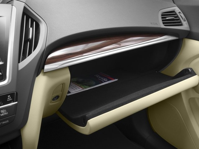 2016 Acura MDX Prices and Values Utility 4D 2WD V6 glove box
