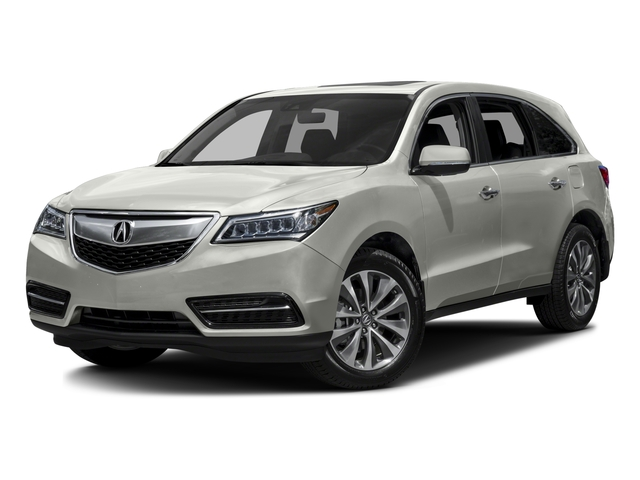 2016 Acura MDX Prices and Values Utility 4D Technology DVD 2WD V6 side front view