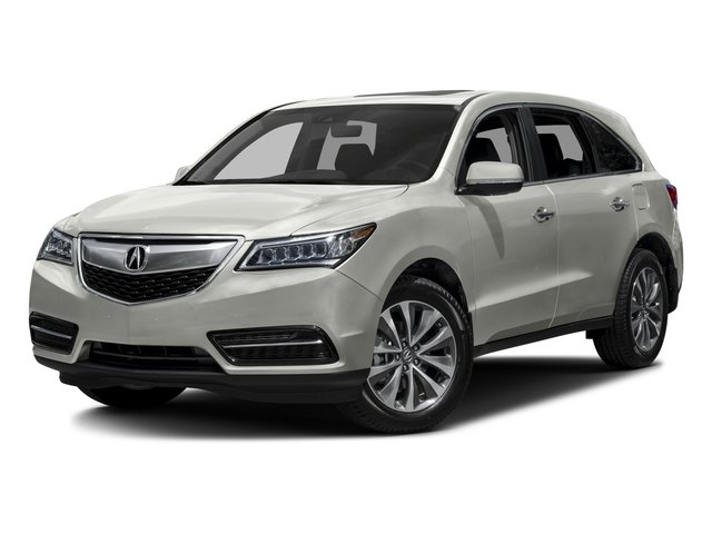 2016 Acura MDX Pictures MDX Utility 4D Technology DVD 2WD V6 photos side front view