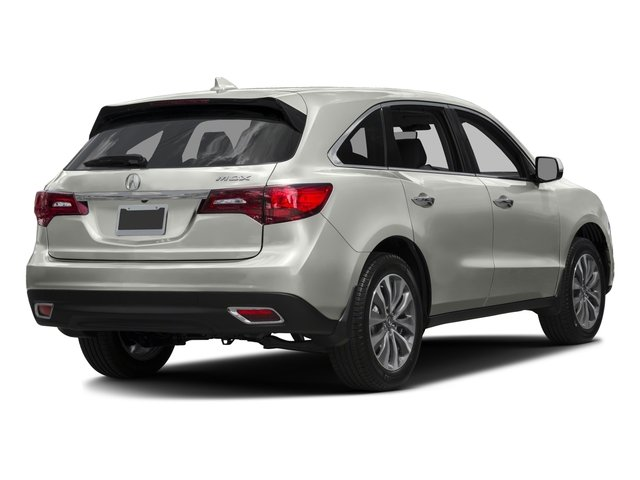 2016 Acura MDX Prices and Values Utility 4D Technology DVD 2WD V6 side rear view