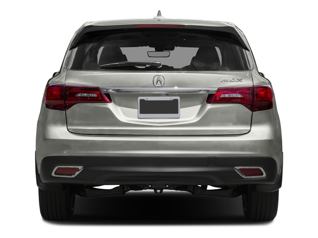 2016 Acura MDX Prices and Values Utility 4D Technology DVD 2WD V6 rear view
