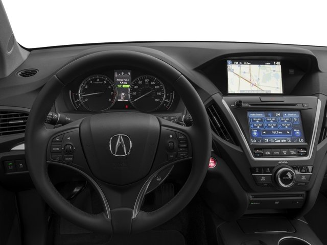 2016 Acura MDX Prices and Values Utility 4D Technology DVD 2WD V6 driver's dashboard