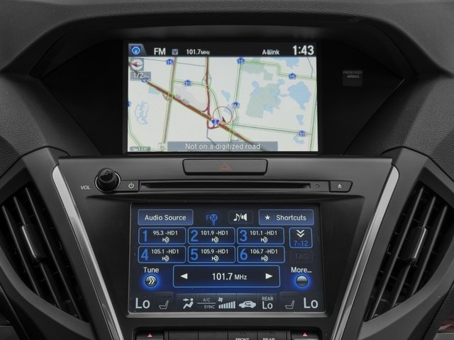 2016 Acura MDX Prices and Values Utility 4D Technology DVD 2WD V6 navigation system