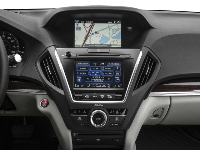 2016 Acura MDX Prices and Values Utility 4D Advance DVD 2WD V6 stereo system