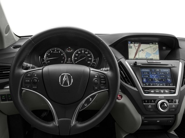 2016 Acura MDX Prices and Values Utility 4D Advance DVD AWD V6 driver's dashboard