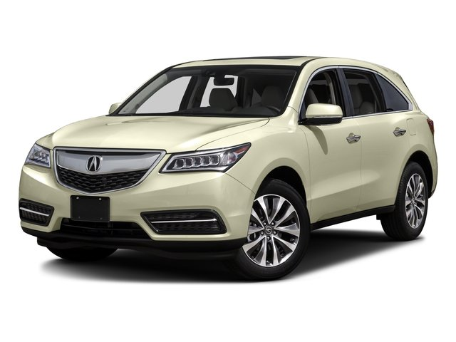 2016 Acura MDX Prices and Values Utility 4D Technology AWD V6 side front view