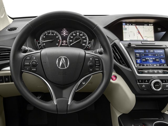 2016 Acura MDX Prices and Values Utility 4D Technology AWD V6 driver's dashboard