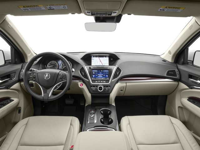 2016 Acura MDX Prices and Values Utility 4D Technology AWD V6 full dashboard