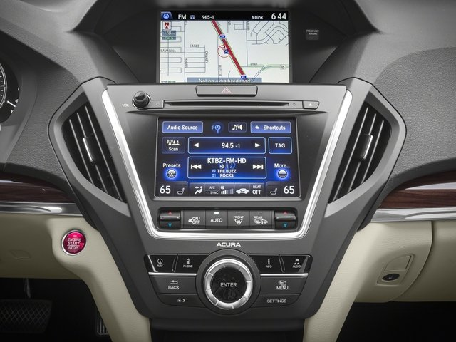 2016 Acura MDX Prices and Values Utility 4D Technology AWD V6 stereo system