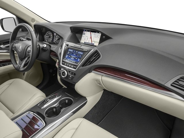 2016 Acura MDX Prices and Values Utility 4D Technology AWD V6 passenger's dashboard