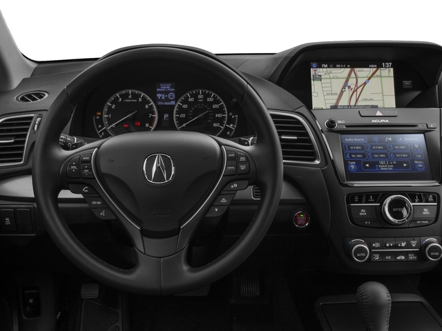 2016 Acura RDX Prices and Values Utility 4D Technology AWD V6 driver's dashboard