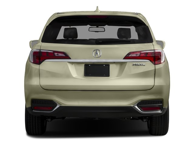 2016 Acura RDX Prices and Values Utility 4D Technology 2WD V6 rear view