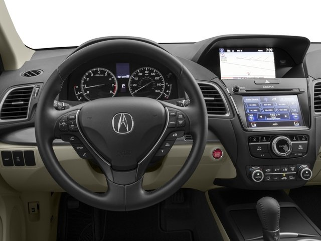 2016 Acura RDX Prices and Values Utility 4D Technology 2WD V6 driver's dashboard