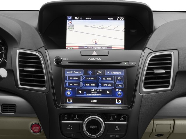 2016 Acura RDX Prices and Values Utility 4D Technology 2WD V6 stereo system