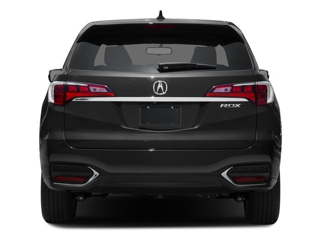 2016 Acura RDX Prices and Values Utility 4D 2WD V6 rear view