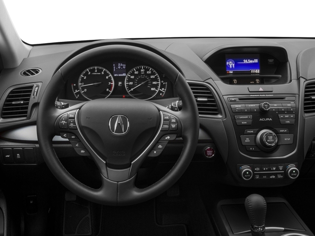 2016 Acura RDX Prices and Values Utility 4D 2WD V6 driver's dashboard