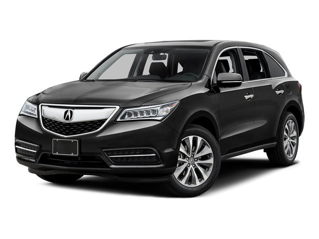 2016 Acura MDX Prices and Values Utility 4D Technology DVD AWD V6 side front view