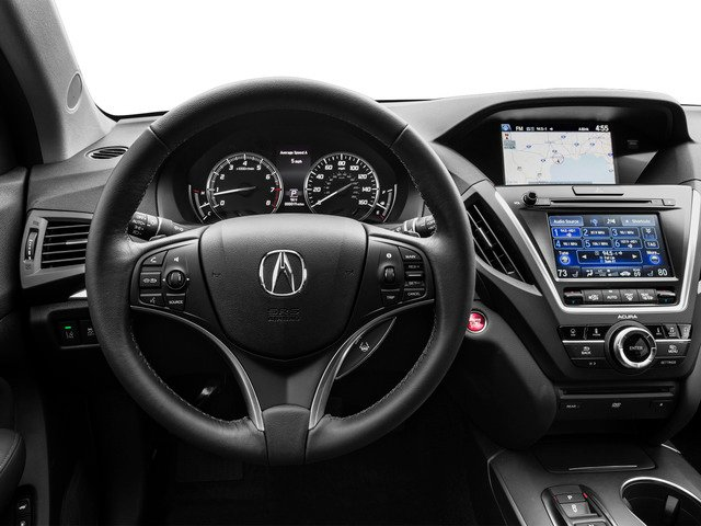 2016 Acura MDX Prices and Values Utility 4D Technology DVD AWD V6 driver's dashboard
