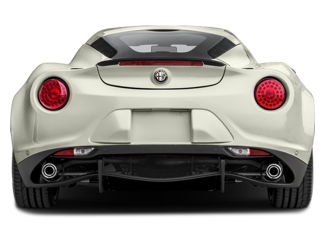 2016 Alfa Romeo 4C Prices and Values Coupe 2D I4 Turbo rear view