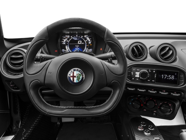 2016 Alfa Romeo 4C Prices and Values Coupe 2D I4 Turbo driver's dashboard