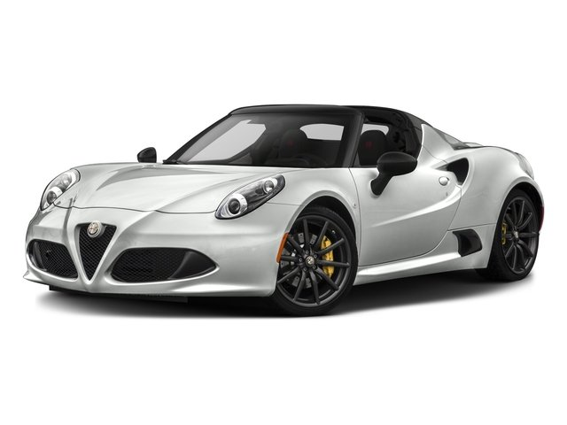 2016 Alfa Romeo 4C Pictures 4C Convertible 2D Spyder I4 Turbo photos side front view