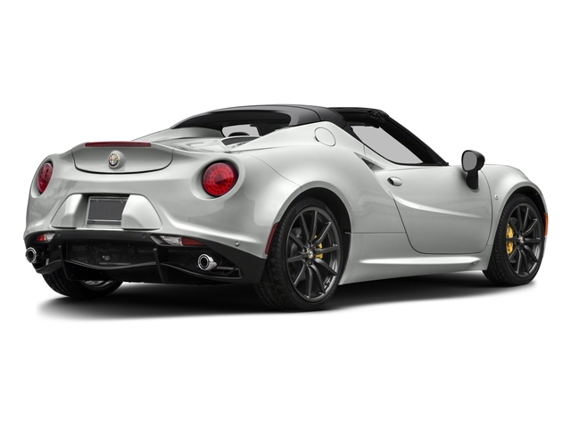 2016 Alfa Romeo 4C Pictures 4C Convertible 2D Spyder I4 Turbo photos side rear view