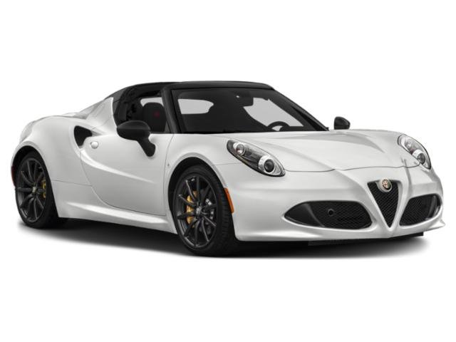 2016 Alfa Romeo 4C Prices and Values Convertible 2D Spyder I4 Turbo side front view