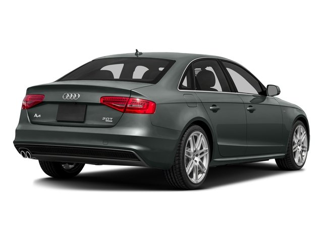 2016 Audi A4 Prices and Values Sedan 4D 2.0T Premium Plus 2WD side rear view