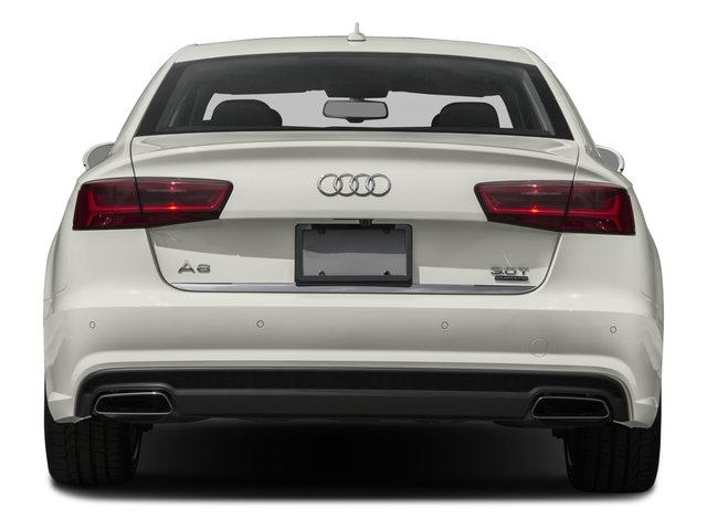 2016 Audi A6 Prices and Values Sedan 4D 2.0T Premium AWD rear view