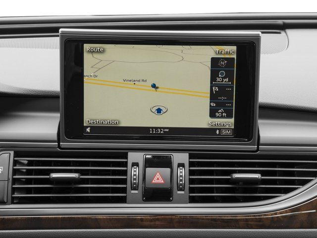 2016 Audi A6 Pictures A6 Sedan 4D 2.0T Premium Plus 2WD photos navigation system