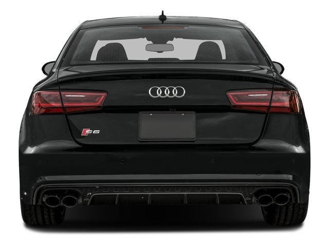 2016 Audi S6 Prices and Values Sedan 4D S6 Prestige AWD rear view