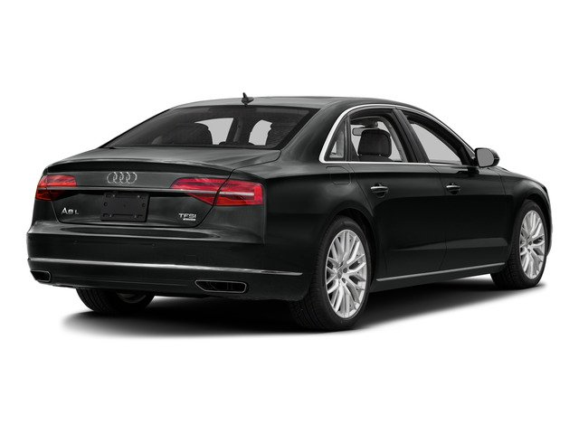 2016 Audi A8 L Prices and Values Sedan 4D 6.3 L AWD W12 side rear view