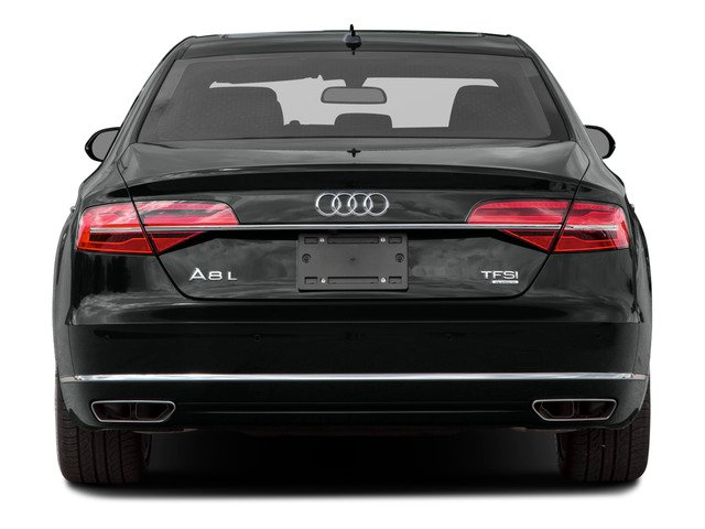 2016 Audi A8 L Prices and Values Sedan 4D 3.0T L AWD V6 Supercharged rear view