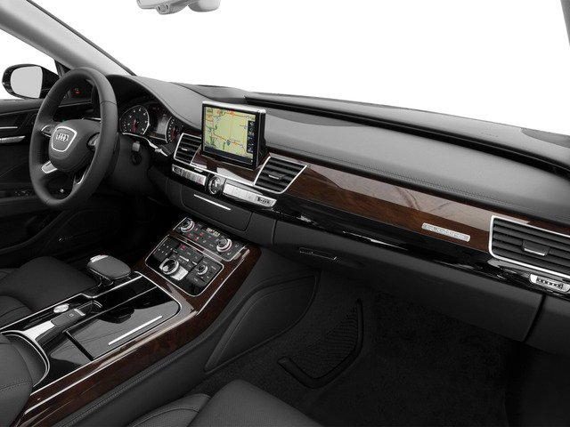 2016 Audi A8 L Prices and Values Sedan 4D 6.3 L AWD W12 passenger's dashboard