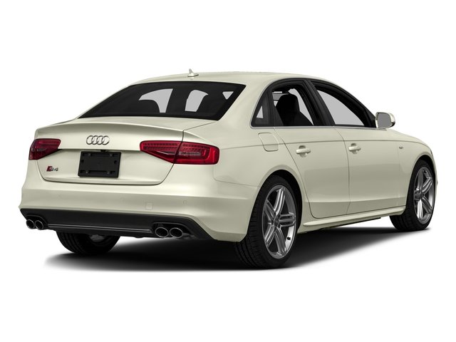 2016 Audi S4 Prices and Values Sedan 4D S4 Premium Plus AWD side rear view