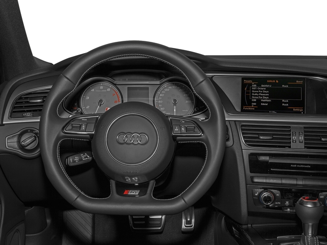 2016 Audi S4 Prices and Values Sedan 4D S4 Prestige AWD driver's dashboard