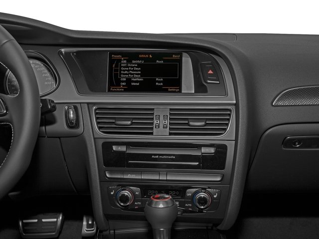 2016 Audi S4 Prices and Values Sedan 4D S4 Prestige AWD stereo system