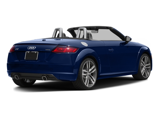 2016 Audi TT Prices and Values Roadster 2D AWD side rear view