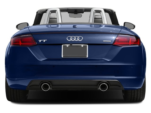 2016 Audi TT Prices and Values Roadster 2D AWD rear view