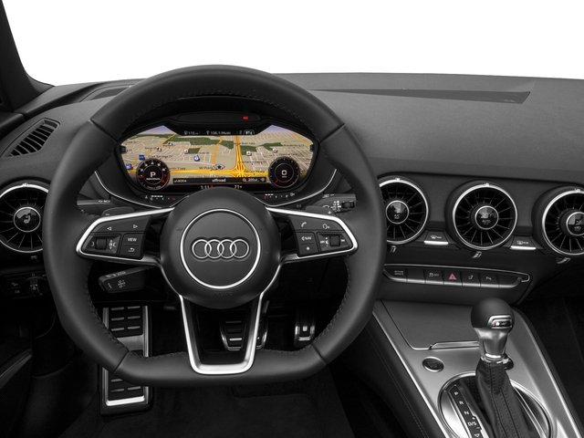 2016 Audi TT Prices and Values Roadster 2D AWD driver's dashboard