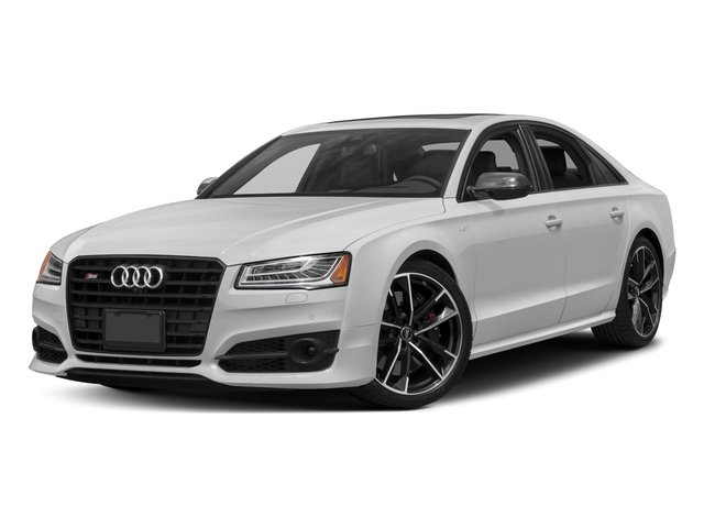 2016 Audi S8 Prices and Values Sedan 4D S8 Plus AWD V8 Turbo side front view