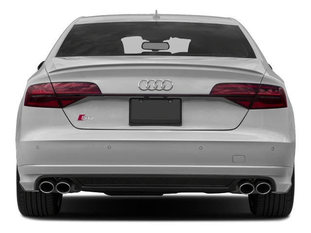 2016 Audi S8 Prices and Values Sedan 4D S8 Plus AWD V8 Turbo rear view