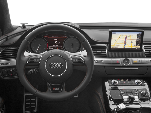 2016 Audi S8 Prices and Values Sedan 4D S8 Plus AWD V8 Turbo driver's dashboard