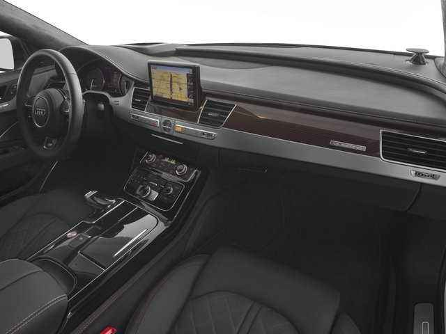 2016 Audi S8 Prices and Values Sedan 4D S8 Plus AWD V8 Turbo passenger's dashboard