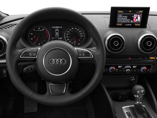 2016 Audi A3 Prices and Values Conv 2D 1.8T Premium Plus 2WD Turbo driver's dashboard