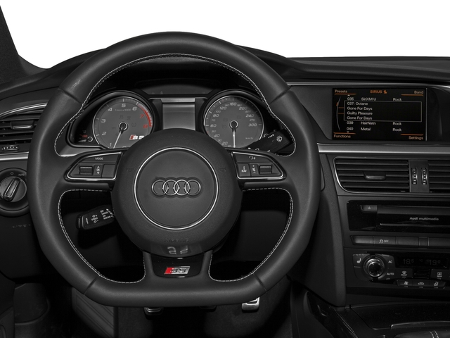 2016 Audi S5 Prices and Values Coupe 2D S5 Prestige AWD driver's dashboard