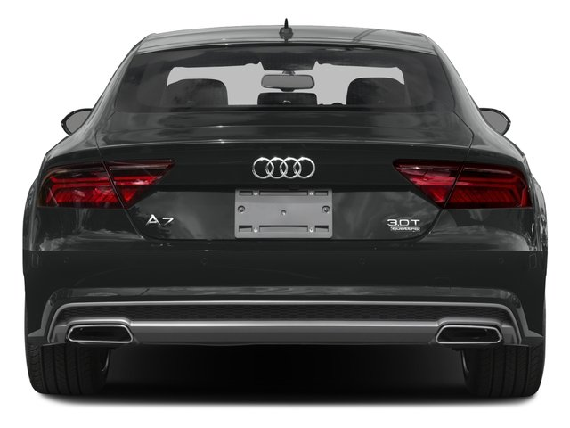 2016 Audi A7 Pictures A7 Sedan 4D 3.0T Prestige AWD photos rear view