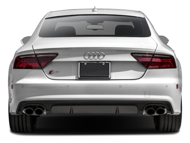 2016 Audi S7 Prices and Values Sedan 4D S7 Prestige AWD rear view