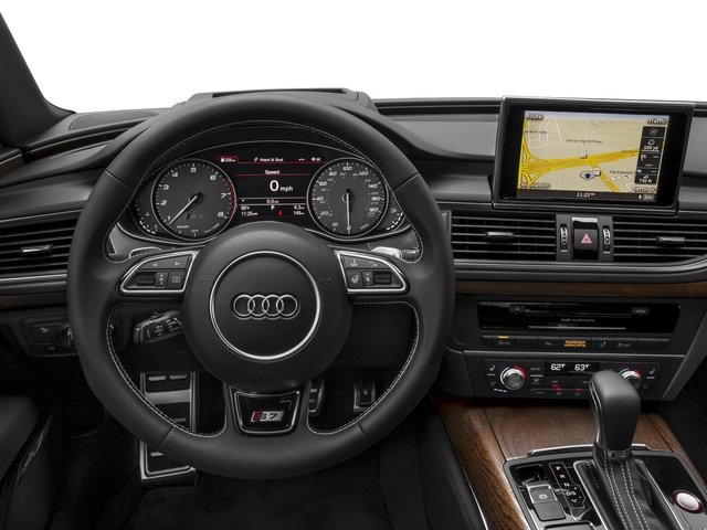 2016 Audi S7 Prices and Values Sedan 4D S7 Prestige AWD driver's dashboard