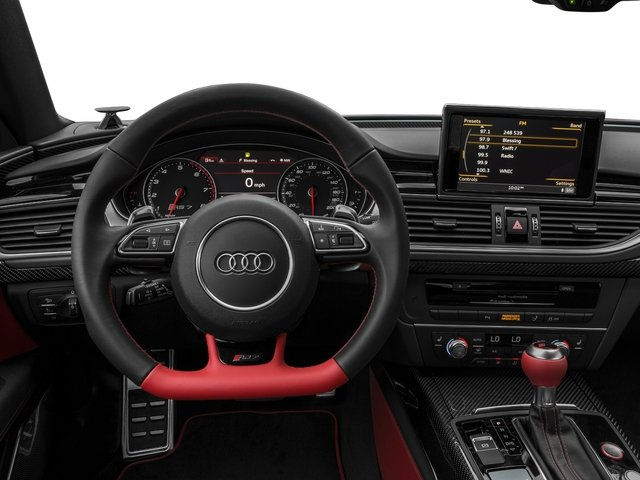 2016 Audi RS 7 Prices and Values Sedan 4D RS7 Performance AWD V8 driver's dashboard